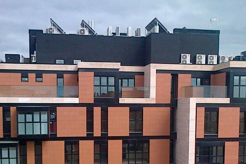sistema de aire acondicionado para hoteles