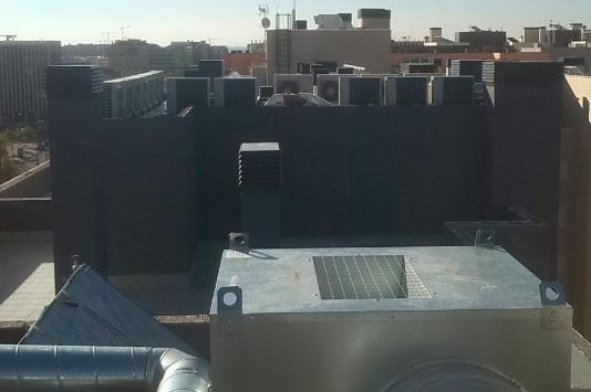 climatización para edificios