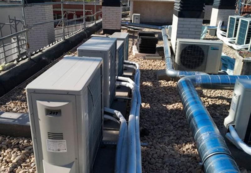 sistemas de climatización para locales comerciales